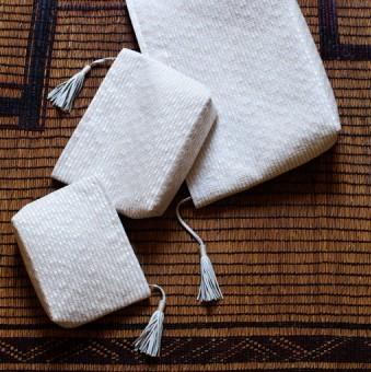 【商品情報】Atelier Nihal-100年前の織機で革を織る-其の1